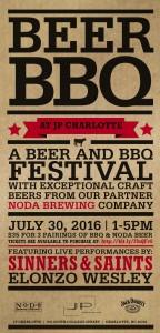 BeerBBQ Flyer